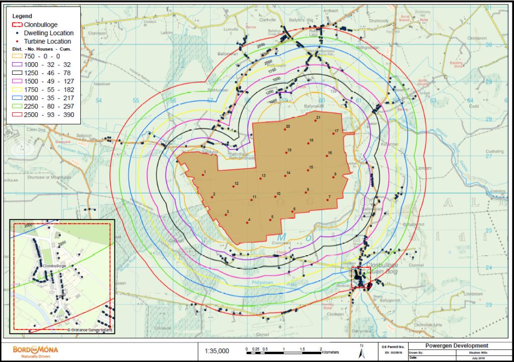 Cloncreen map